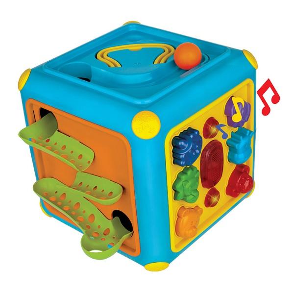 Cubo Gigante Atividades com Som e Toboga Magic TOYS 1082