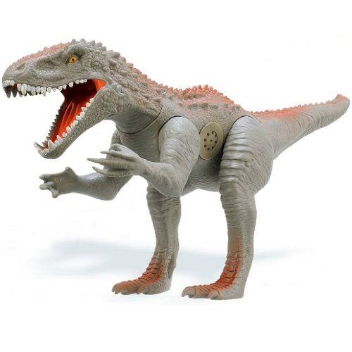 Dinossauro Furious Cinza Adijomar 842