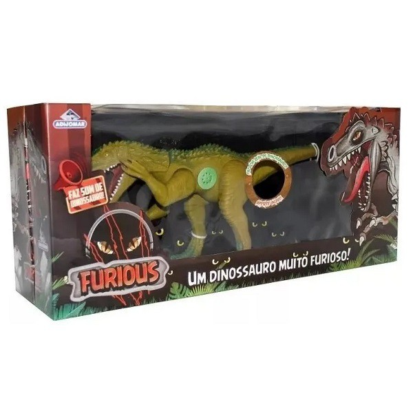 Dinossauro Furious Verde Adijomar 842