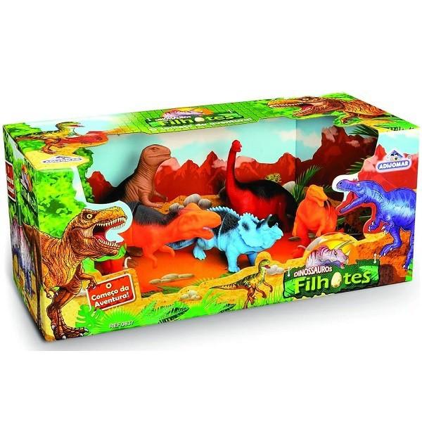 Dinossauros Filhotes Adijomar 837