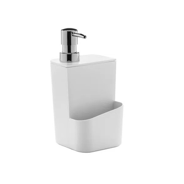Dispenser para Detergente 650 ML Branco ou
