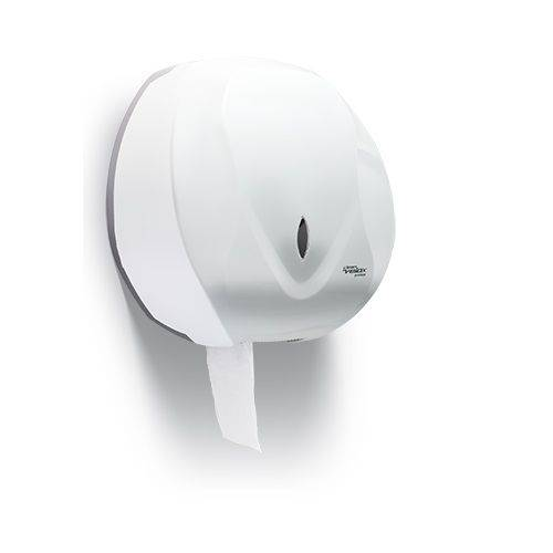 Dispenser Porta Papel Higienico Rolao Velox Branco Premisse C19650