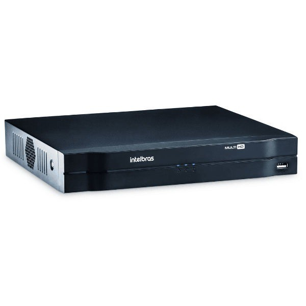 DVR 04 Canais STAND Alone Multi HD Intelbras MHDX-1104 1080P Lite + 1 Canal 2MP IP 4580326