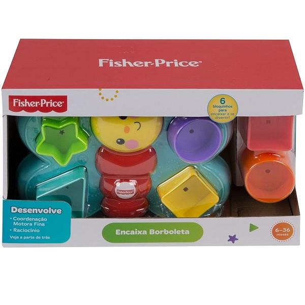 Encaixa Borboleta Fisher Price Mattel DJD80