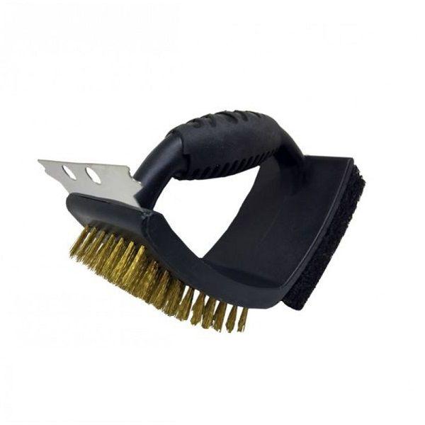 Escova para Churrasqueira e GRILL Dupla GRILL&PIZZA Prana GP43