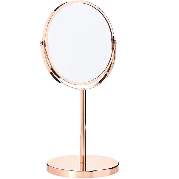 Espelho Aumento com Base Bronze BH1611BZ Mimo STYLE 6017