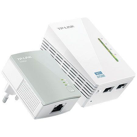 Extensor de Alcance TP-LINK TL-WPA4220KIT Powerline 300/500MBPS-