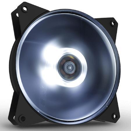 Cooler Gabinete Masterfan 120MM MF120L LED Branco - R4-C1DS-12FW-R1