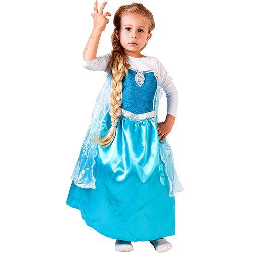 Fantasia Frozen ELSA Luxo G Rubies 103000005