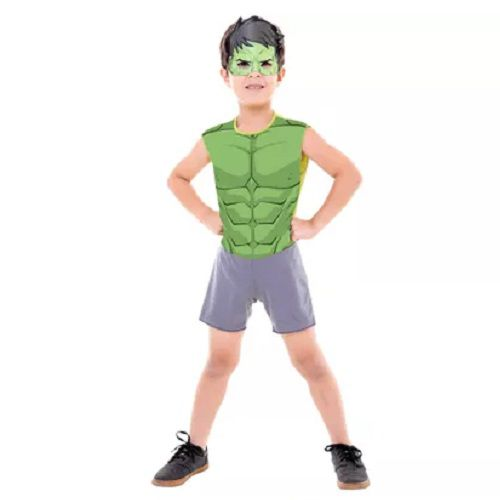 Fantasia HULK Superpop Curta P FUN Factory 307900003