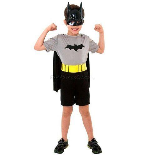 Fantasia Infantil Batman Curta M Sulamericana 10170000003