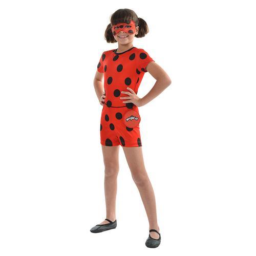 Fantasia Infantil Ladybug Curta G Sulamericana 16402