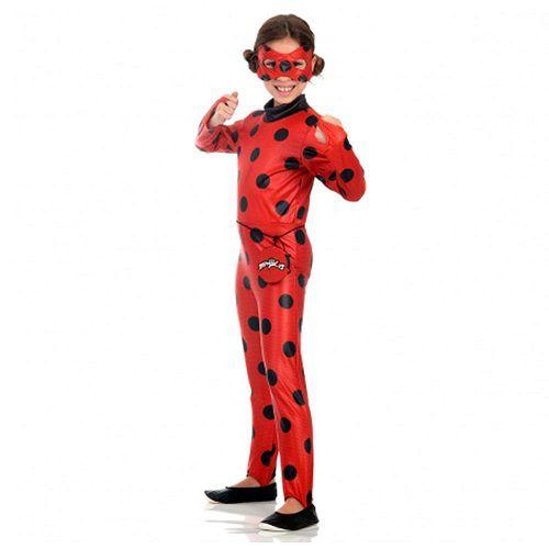 Fantasia Infantil Ladybug M Sulamericana 35402000003