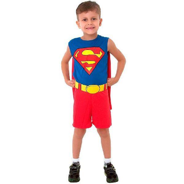Fantasia Infantil Super Homem Regata M Sulamericana 10172000003