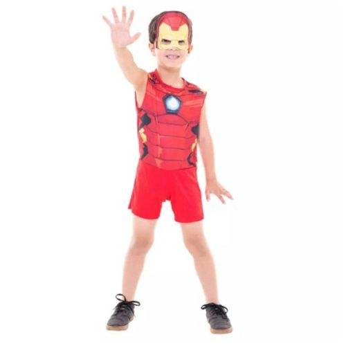 Fantasia IRON MAN Superpop Curta P FUN Factory 307800003