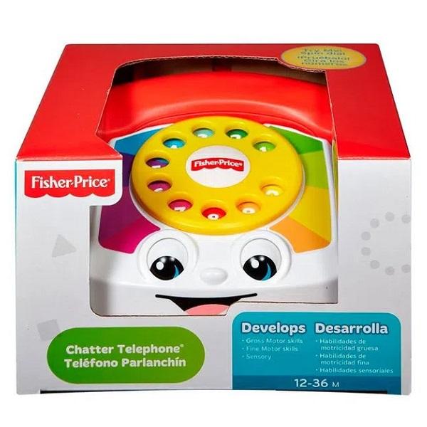 FISHER-PRICE Novo Telefone Feliz Mattel DPN22