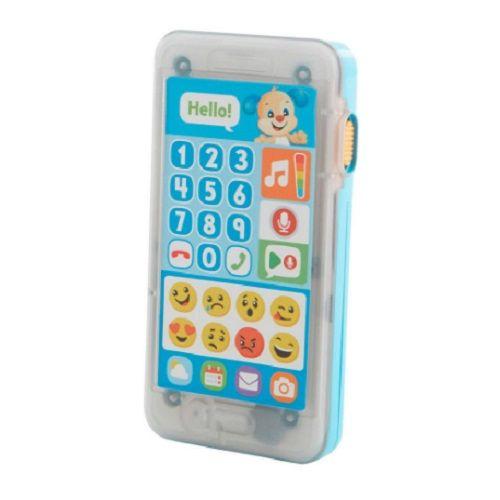 Fisher Price Telefone Emojis Aprender e Brincar Cachorrinho Mattel FHJ18