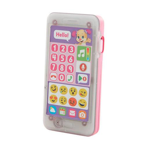 Fisher Price Telefone Emojis Aprender e Brincar Irmazinha Mattel FHJ18