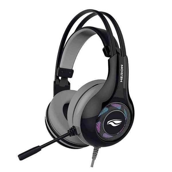 Fone com Microfone C3 TECH Gamer USB 7.1 Heron II PH-G701BKV2 Preto