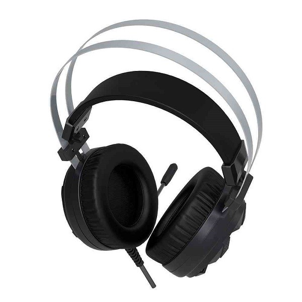 Fone com Microfone C3 TECH Gamer USB 7.1 Vulture PH-G710BK