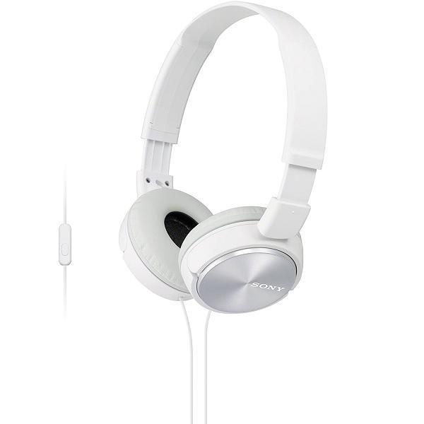 Fone de Ouvido Estereo com Microfone MDR-ZX310AP Branco - SONY