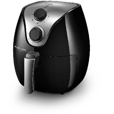 Fritadeira AIR FRYER 2,5L sem Oleo INOX 1500W Preto 127V Multilaser CE13