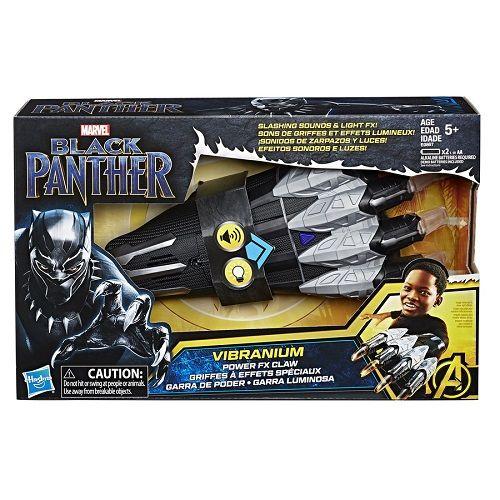 Garra Eletronica com Som LUZ Pantera Negra Vingadores Hasbro E0867 12962
