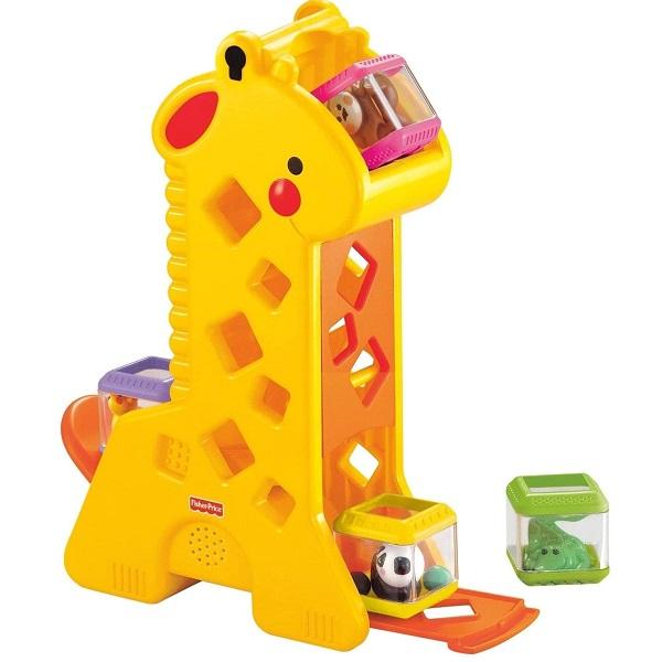 Girafa com Blocos FISHER-PRICE Mattel B4253 26512