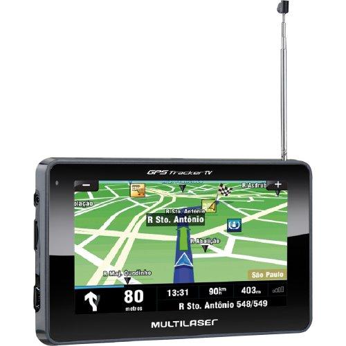 GPS Multilaser Tracker III 4,3 com TV / FM GP034