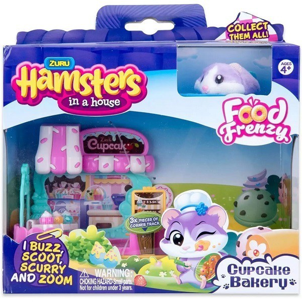 Hamster IN a House CUP Cake Serie 2 Candide 7709