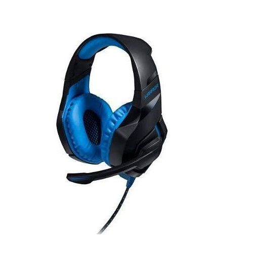 Headset Gamer Multilaser Warrior 2.0 com LED USB Preto e AZUL PH244