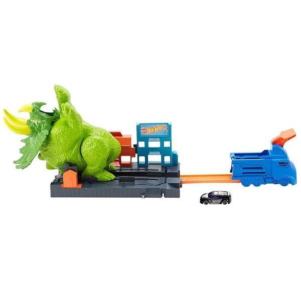 Hot Wheels Ataque de Triceratops Mattel GBF97