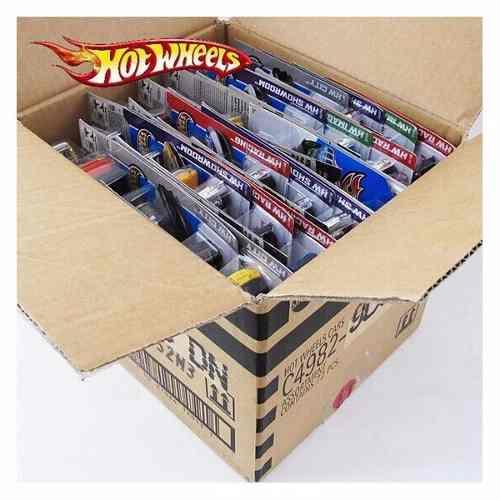 Hot Wheels Caixa C/ 20 Carrinhos Sortidos Original Mattel