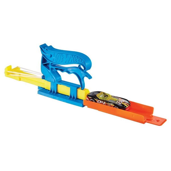 Hot Wheels Lançador Basico AZUL Mattel FTH84