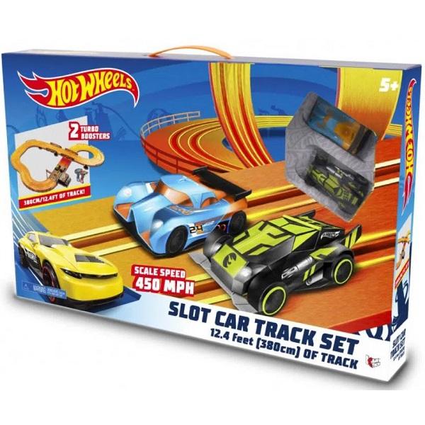 Hot Wheels Pista TRACK SET 380CM SLOT CAR Multikids BR082