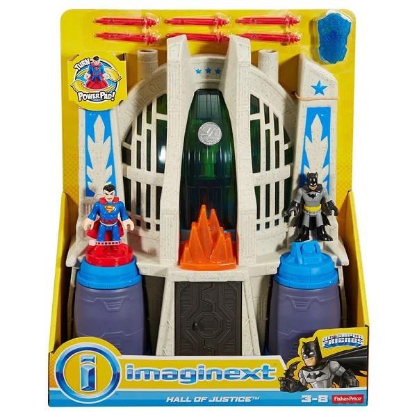 Imaginext Sala da Justiça Mattel CHH94 58617