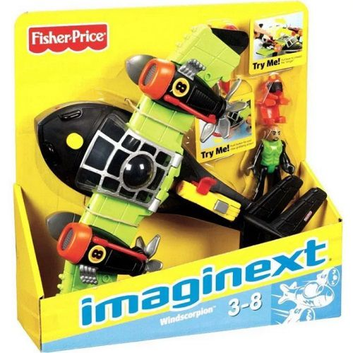 Imaginext Super Avioes SKY Racer Escorpiao dos Ventos Mattel T5120