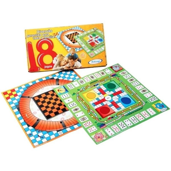 Jogo 18 Jogos Xalingo 6558.7