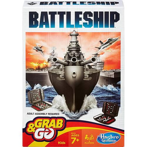 Jogo Battleship GRAB&GO Hasbro B0995 10740