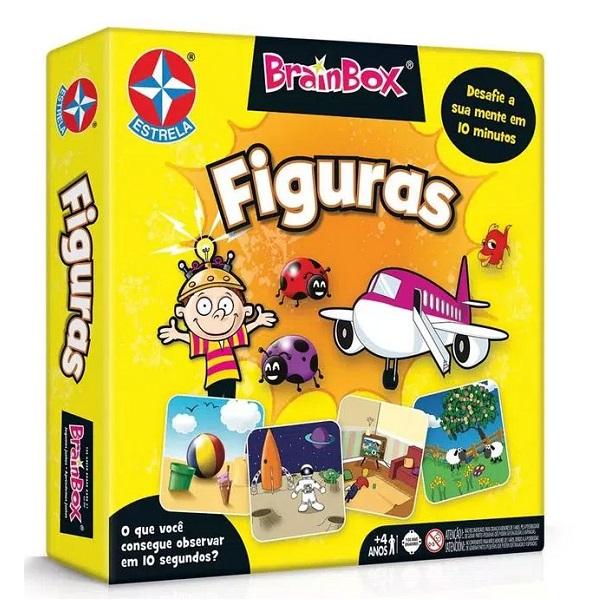 Jogo Brainbox Figuras Estrela 0155