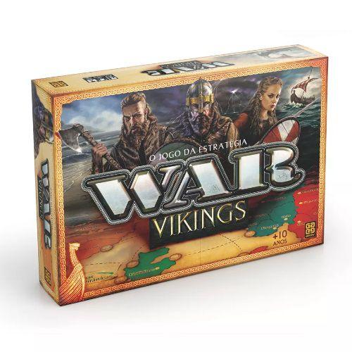 Jogo de Tabuleiro WAR Vikings GROW 3450