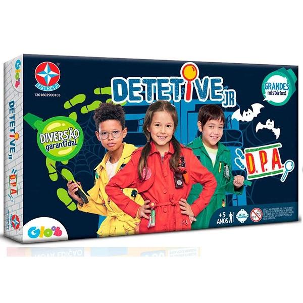 Jogo Detetive JR. Detetives do Predio AZUL Estrela 0103