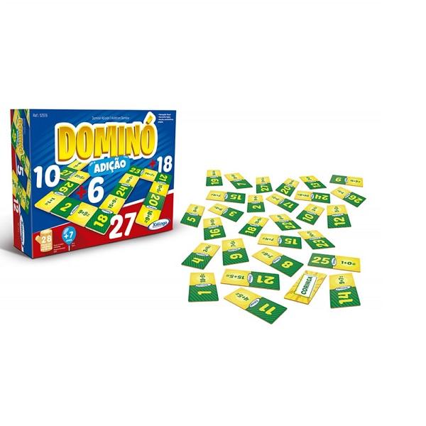 Jogo Domino Adiçao Xalingo 5257.6