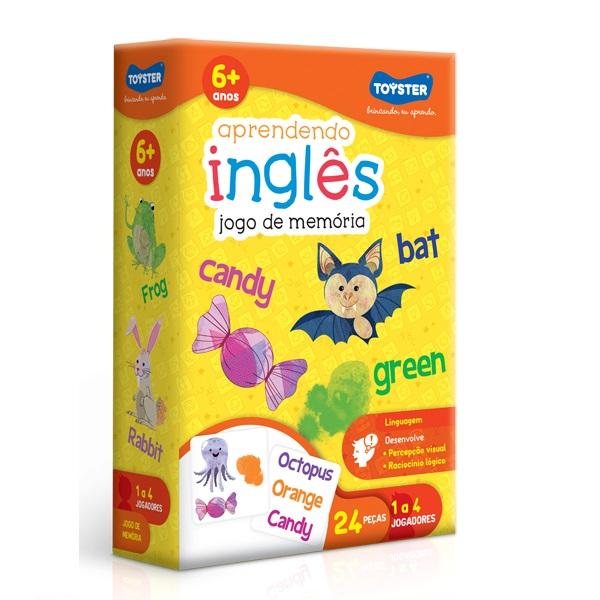 Jogo Educativo Aprendendo INGLES Toyster 2054