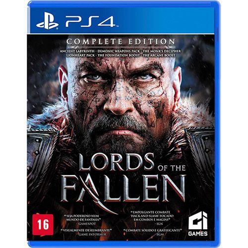 Jogo Lords Of The Fallen - Playstation 4 - Bandai Namco Games