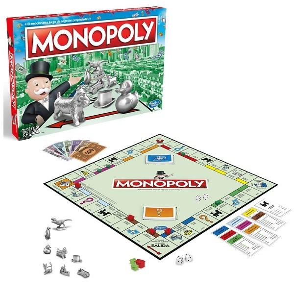 Jogo Monopoly Hasbro 13091 C1009