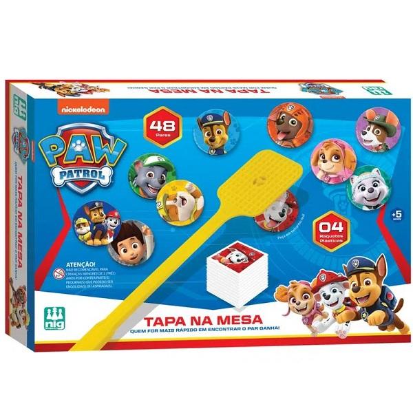 Jogo Tapa NA Mesa Patrulha Canina NIG Brinquedos  0681