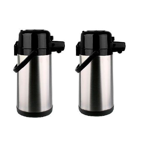 Kit com 2 Garrafas Termicas AÇO INOX Pressao 1,9L Termopro TP6506