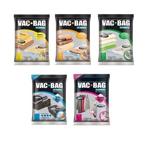 Kit com 5 Sacos a Vácuo VAC BAG Ordene