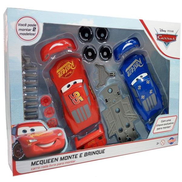 Kit Relampago Mcqueen Troca Corpo Carros 3 TOYNG 29567